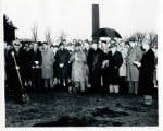 Groundbreaking of the first Folke Bernadotte Memorial Library