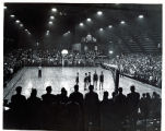 Basketball Game with Capacity Crowd