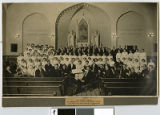 First rendition of Messiah by Minnesota College Oratorio Society at St. Paul's Lutheran Church,...